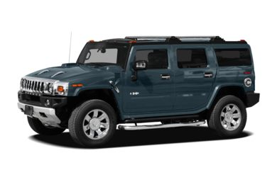 3/4 Front Glamour 2008 HUMMER H2 SUV
