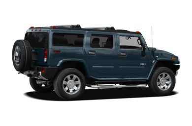 3/4 Rear Glamour  2008 HUMMER H2 SUV