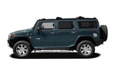 90 Degree Profile 2008 HUMMER H2 SUV