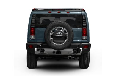 Rear Profile  2008 HUMMER H2 SUV