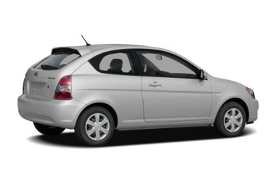 3/4 Rear Glamour  2008 Hyundai Accent