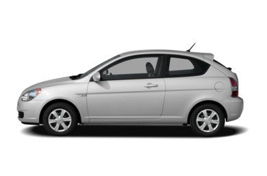90 Degree Profile 2008 Hyundai Accent