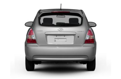 Rear Profile  2008 Hyundai Accent