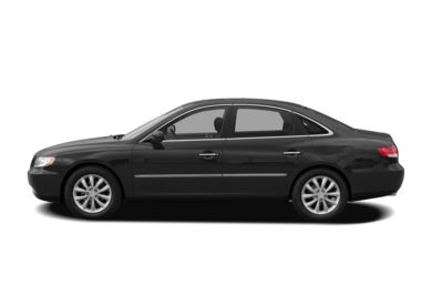 90 Degree Profile 2008 Hyundai Azera