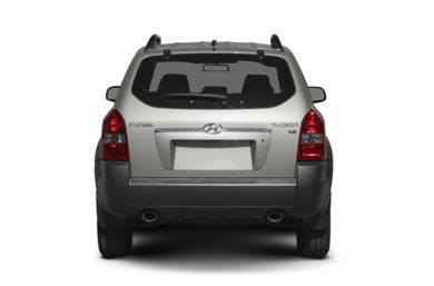 Rear Profile  2008 Hyundai Tucson