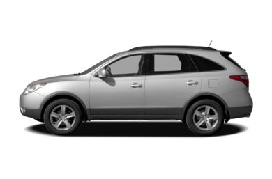 90 Degree Profile 2008 Hyundai Veracruz