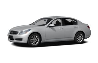 3/4 Front Glamour 2008 Infiniti G35x