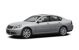 3/4 Front Glamour 2008 Infiniti M35x