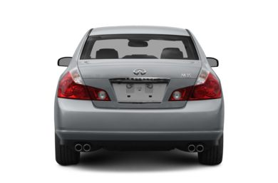 Rear Profile  2008 INFINITI M35x