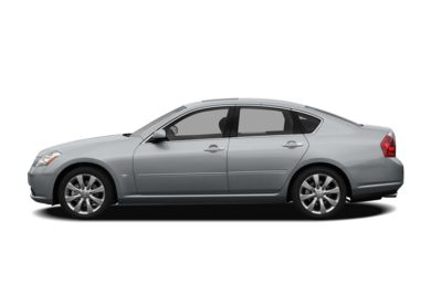 90 Degree Profile 2008 INFINITI M45x