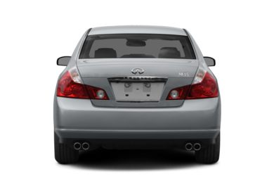 Rear Profile  2008 INFINITI M45x