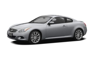 3/4 Front Glamour 2008 Infiniti G37 Coupe