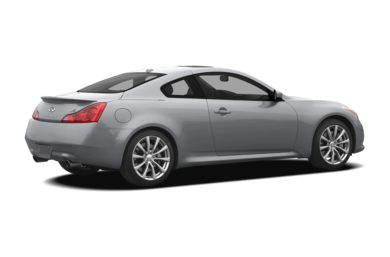 3/4 Rear Glamour  2008 Infiniti G37 Coupe