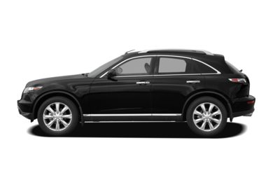 90 Degree Profile 2008 Infiniti FX45