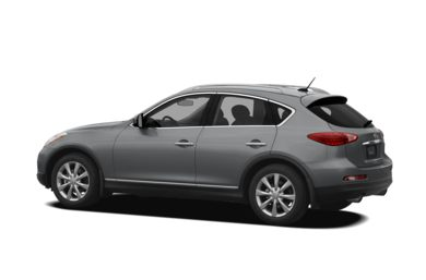 Surround 3/4 Rear - Drivers Side  2008 Infiniti EX35