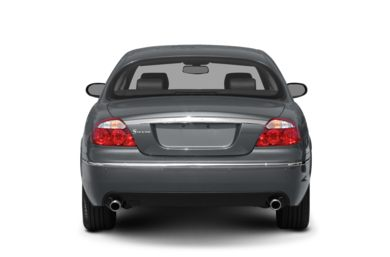 Rear Profile  2008 Jaguar S-TYPE