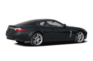3/4 Rear Glamour  2008 Jaguar XKR