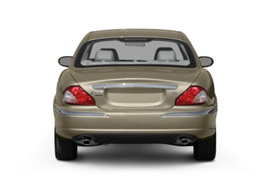Rear Profile  2008 Jaguar X-TYPE