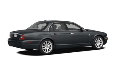 3/4 Rear Glamour  2008 Jaguar XJ