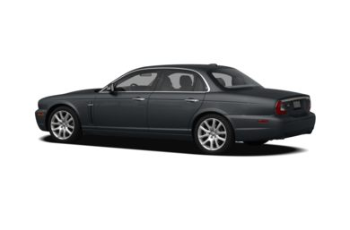 Surround 3/4 Rear - Drivers Side  2008 Jaguar XJ
