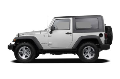 90 Degree Profile 2008 Jeep Wrangler