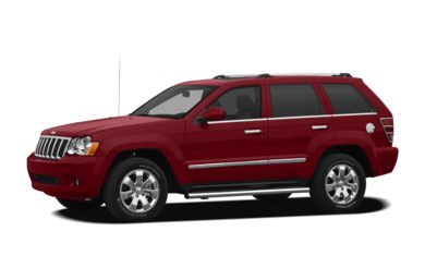 3/4 Front Glamour 2008 Jeep Grand Cherokee