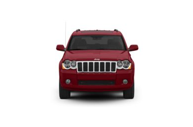 Surround Front Profile  2008 Jeep Grand Cherokee