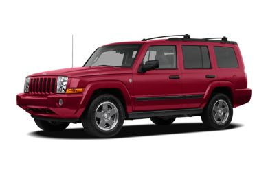 3/4 Front Glamour 2008 Jeep Commander