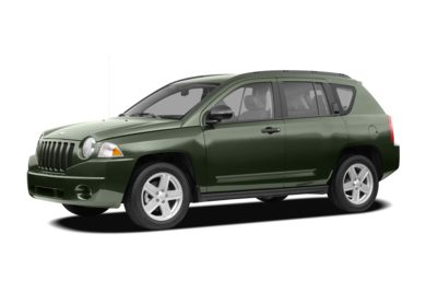 3/4 Front Glamour 2008 Jeep Compass