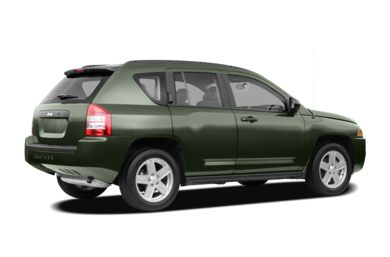 3/4 Rear Glamour  2008 Jeep Compass