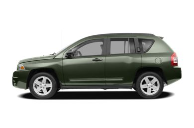 90 Degree Profile 2008 Jeep Compass