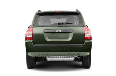 Rear Profile  2008 Jeep Compass