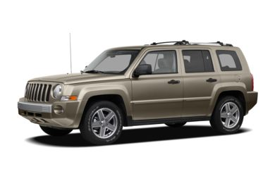 3/4 Front Glamour 2008 Jeep Patriot