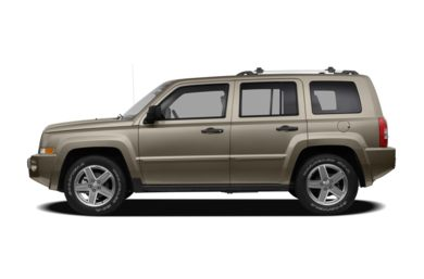 90 Degree Profile 2008 Jeep Patriot