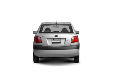 Surround Rear Profile 2008 Kia Rio