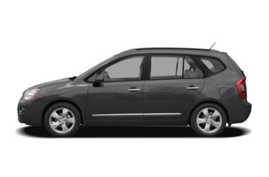 90 Degree Profile 2008 Kia Rondo