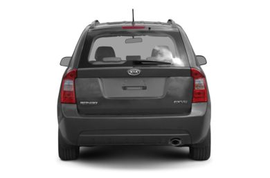 Rear Profile  2008 Kia Rondo