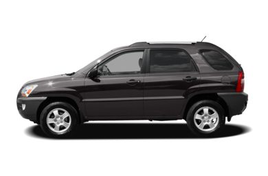90 Degree Profile 2008 Kia Sportage