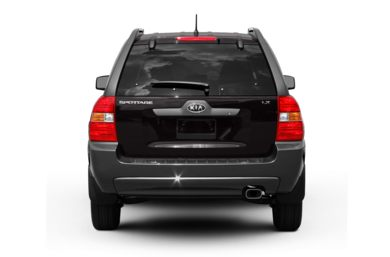 Rear Profile  2008 Kia Sportage