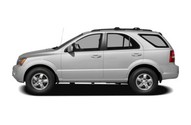 90 Degree Profile 2008 Kia Sorento