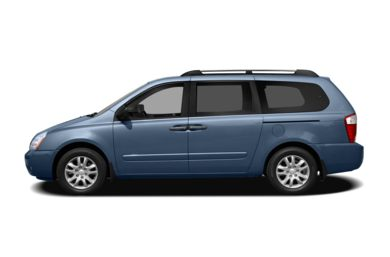 90 Degree Profile 2008 Kia Sedona
