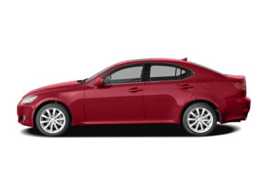 90 Degree Profile 2008 Lexus IS 250