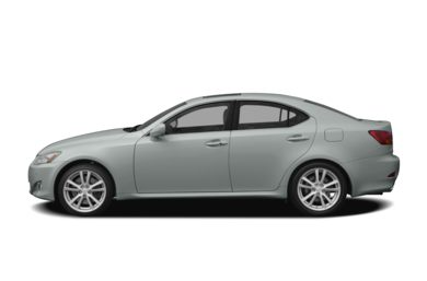90 Degree Profile 2008 Lexus IS 350