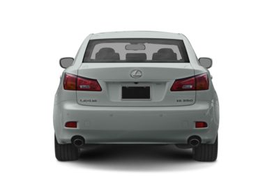 Rear Profile  2008 Lexus IS 350