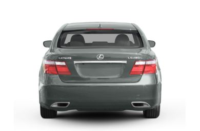 Rear Profile  2008 Lexus LS 460