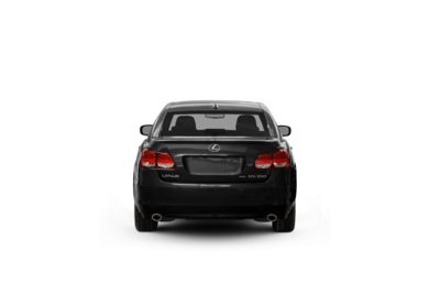 Surround Rear Profile 2008 Lexus GS 350