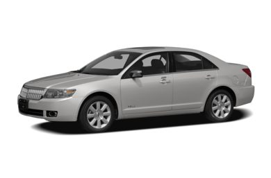 3/4 Front Glamour 2008 Lincoln MKZ