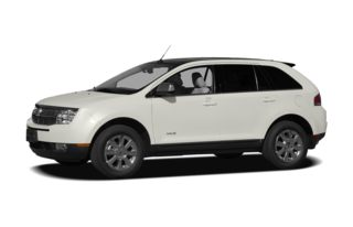 3/4 Front Glamour 2008 Lincoln MKX