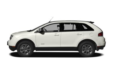 90 Degree Profile 2008 Lincoln MKX