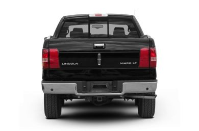 Rear Profile  2008 Lincoln Mark LT